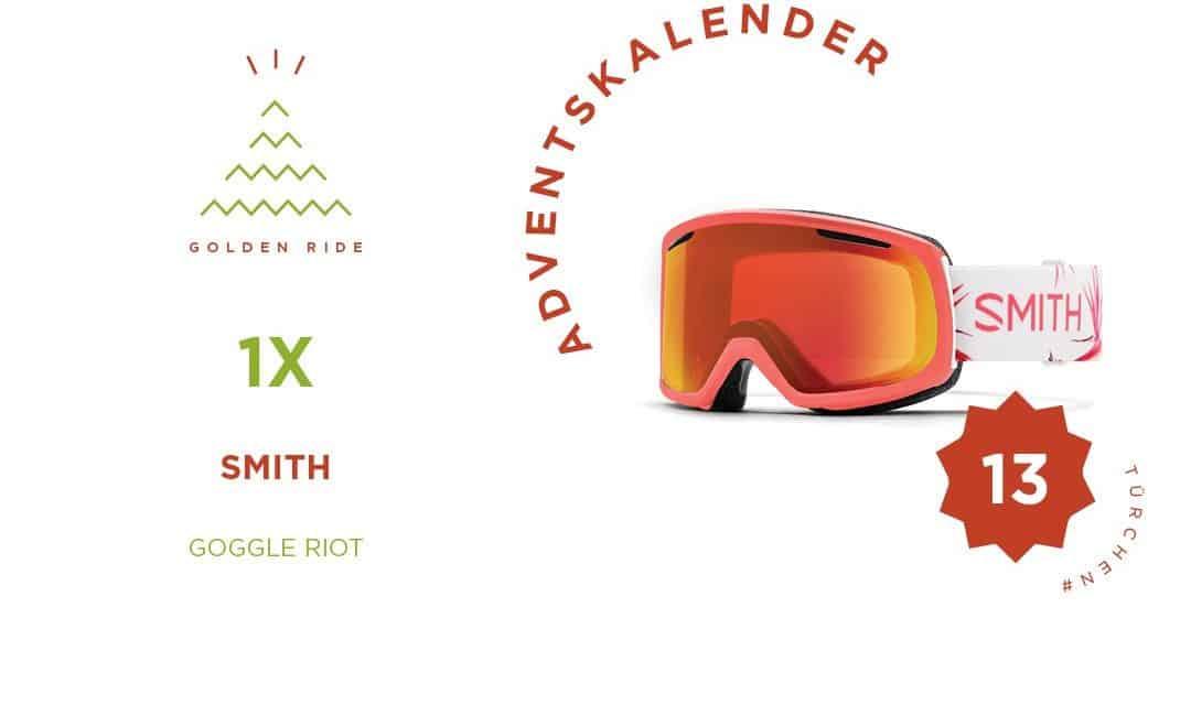 Adventskalender 13. Türchen: Goggle Riot von Smith