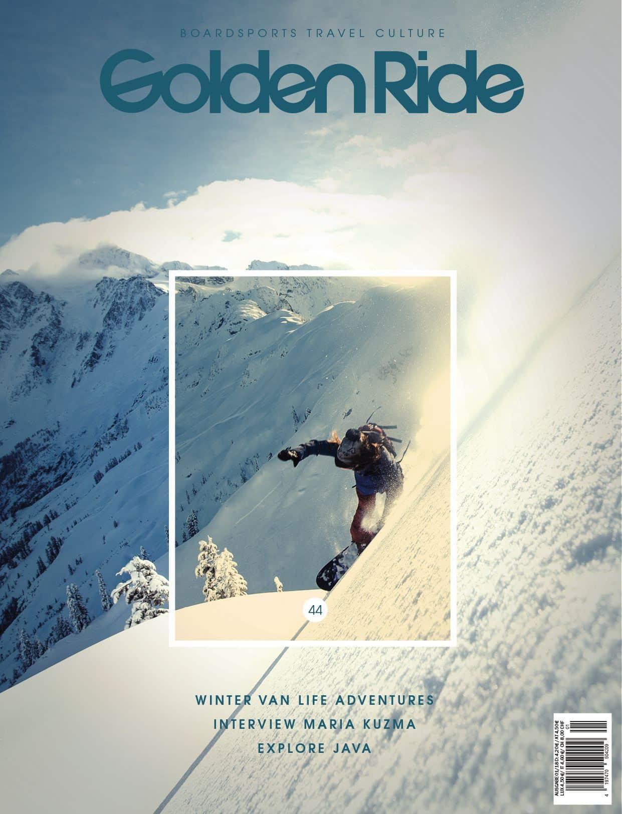 Golden Ride Ausgabe 44 – Cover