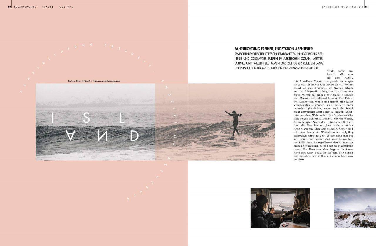 Golden Ride Ausgabe 44 – Surfen und Snowboarden auf Island
