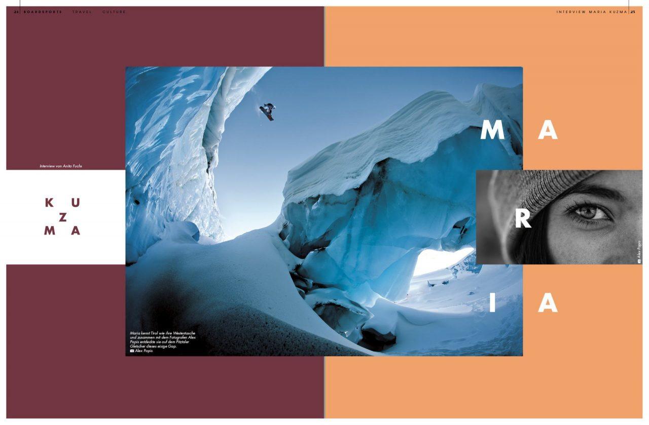 Golden Ride Ausgabe 44 – Interview Maria Kuzma