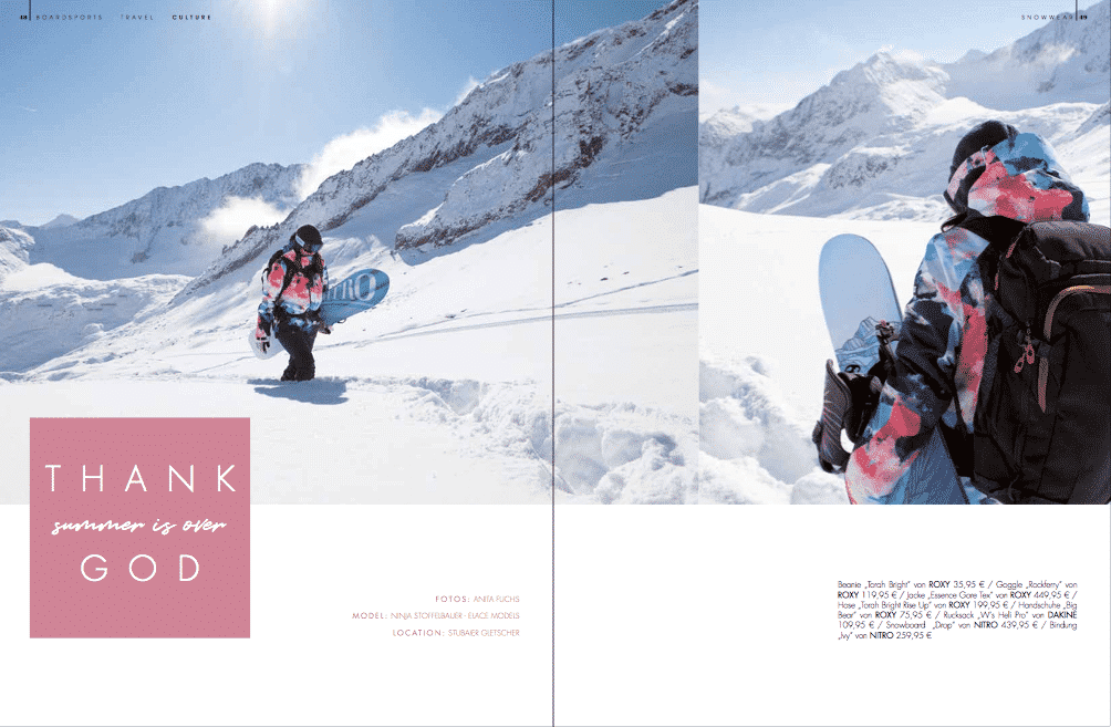 Golden Ride Ausgabe 44 – Snowwear