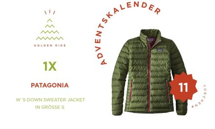 Adventskalender 11. Türchen: Patagonia W´s Down Sweater Jacket