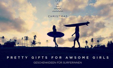 Weihnachtsgeschenke für Surferinnen und Snowboarderinnen
