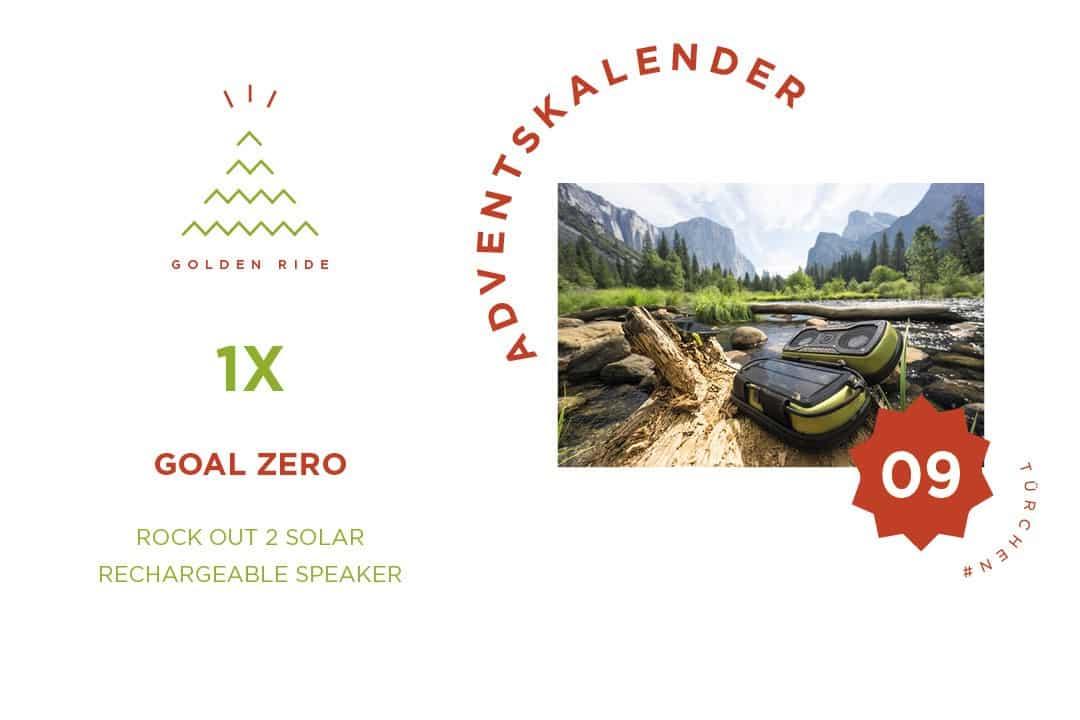 Rock Out 2 Solar Rechargeable Speaker - Goal Zero