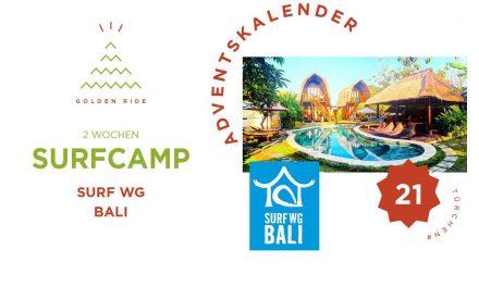 Adventskalender 21. Türchen: 2 Wochen in der Surf WG Bali