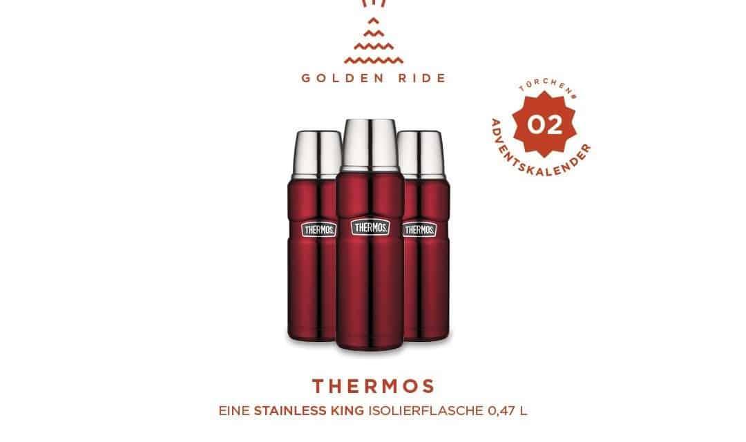 Adventskalender 2. Türchen: Isolierflasche von Thermos