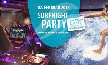 Gewinnspiel: 2×2 VIP Tickets für die Surfnight Party