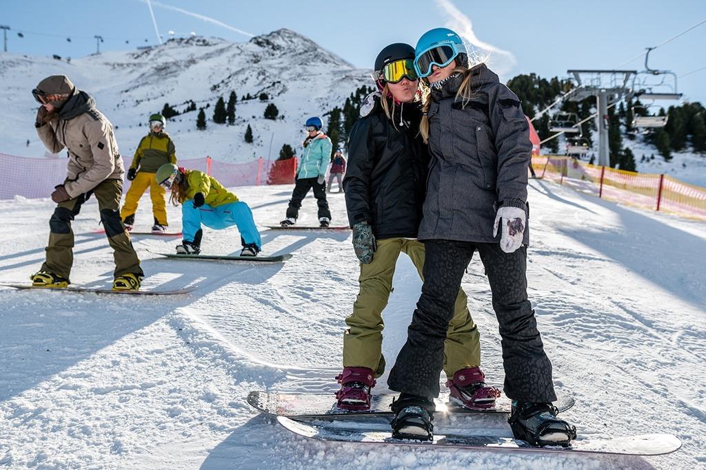 Girls Shred Session Obergurgl, Snowpack Obergurgl
