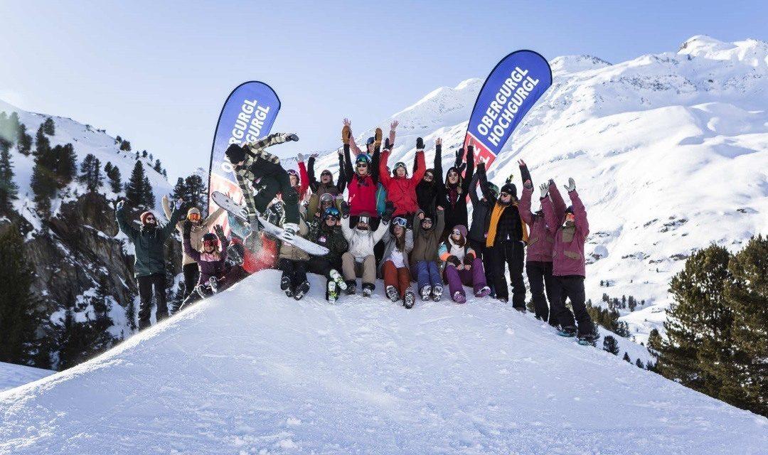 Recap: Girls Shred Sessions in Obergurgl
