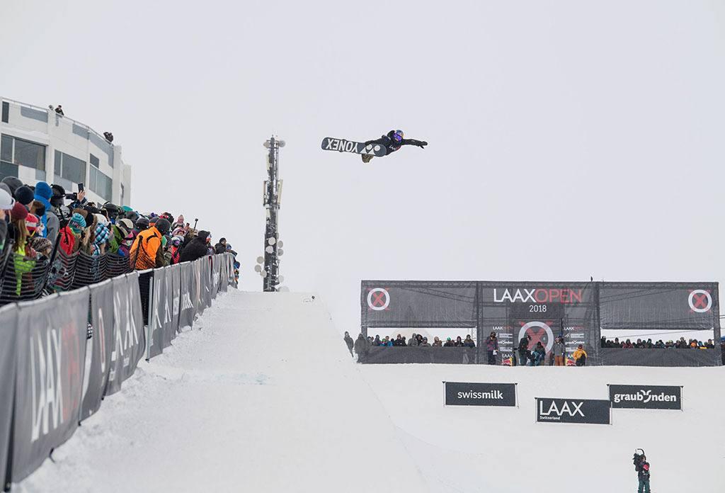 Snowboarden Laax