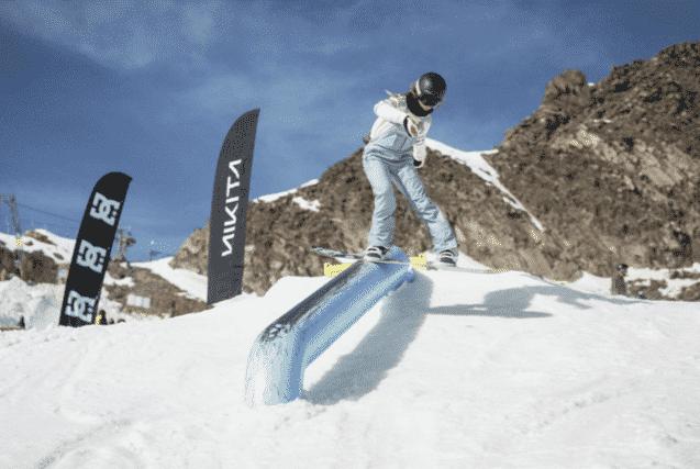 Nikita GWR Snowboard Coaching und Contest