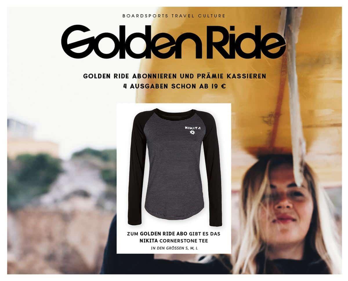 Golden Ride Abo Prämie Nikita Longsleeve