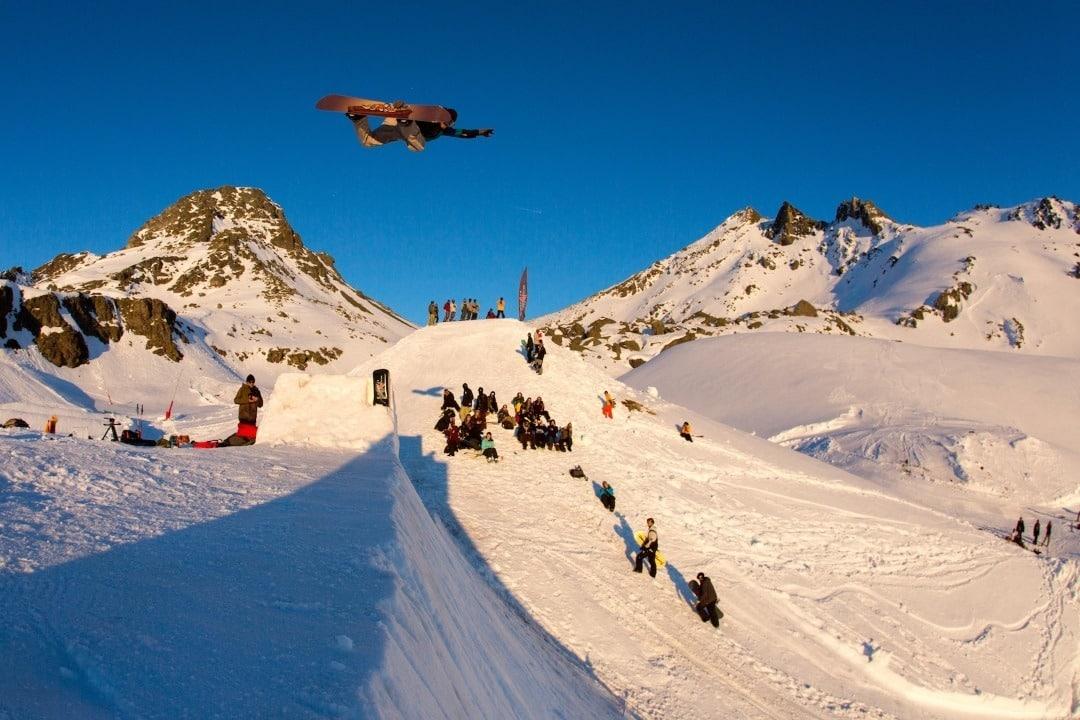 Ischgl Banked Air Snake Run - Steve Gruber