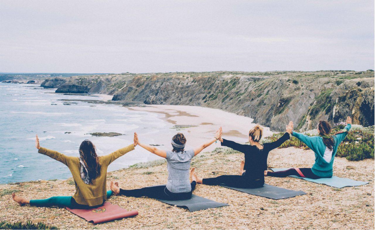 Portugal Surflife Atlantic Riders Yoga
