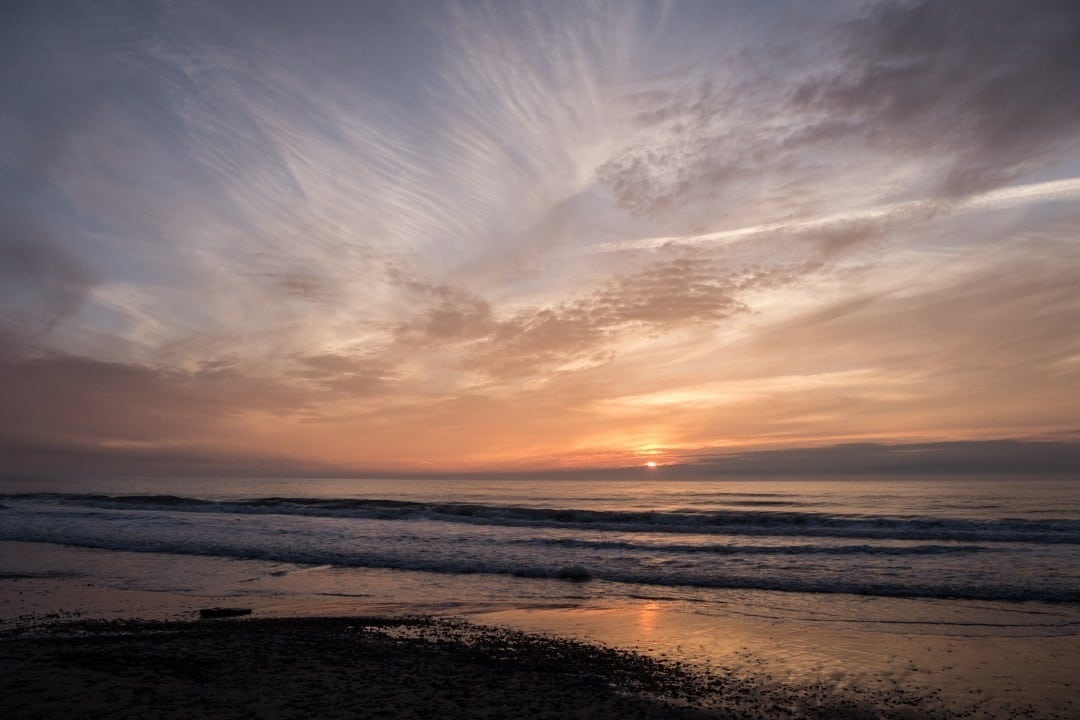 Sonnenuntergang Hide Sande