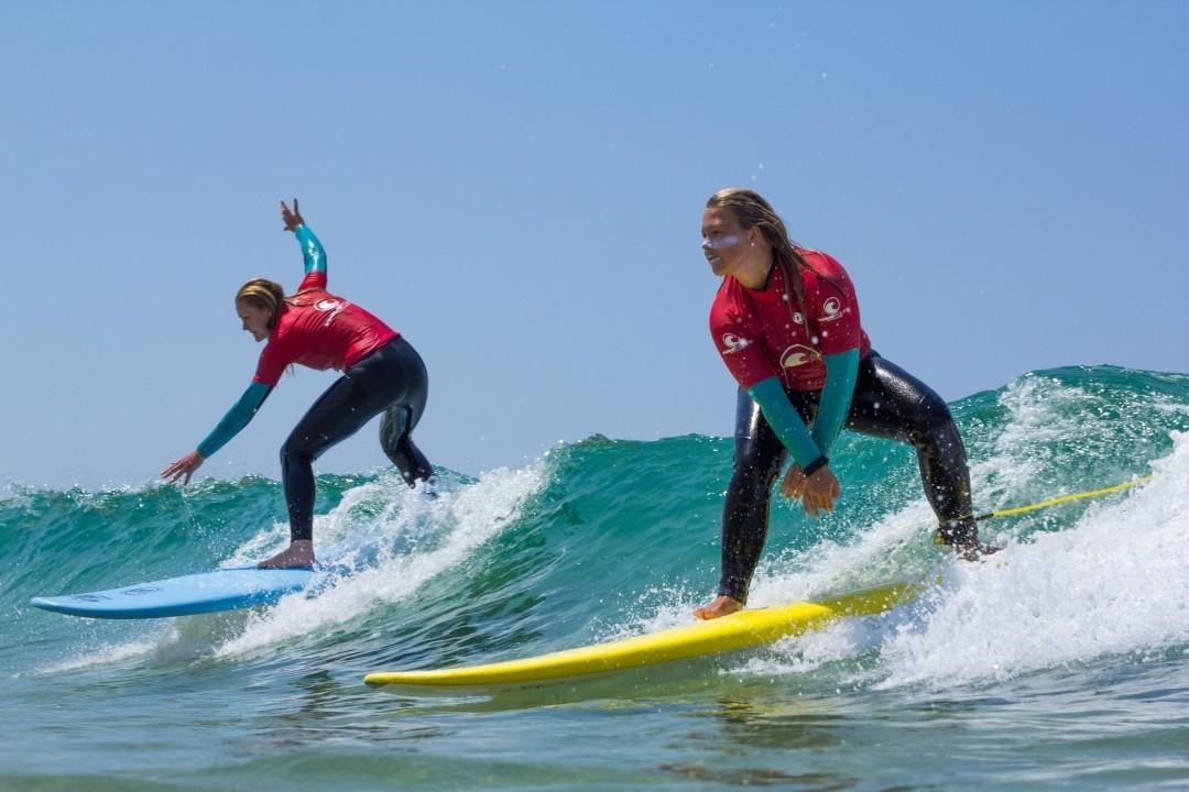Surfunterricht Wavetours