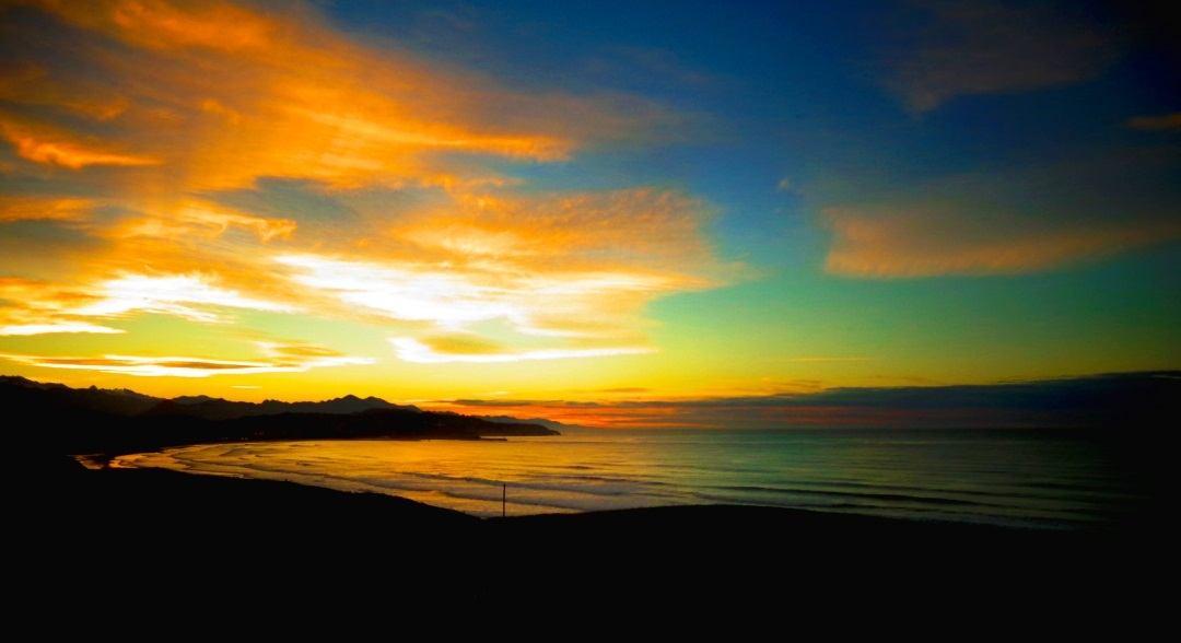 Sonnenuntergang in Kantabrien