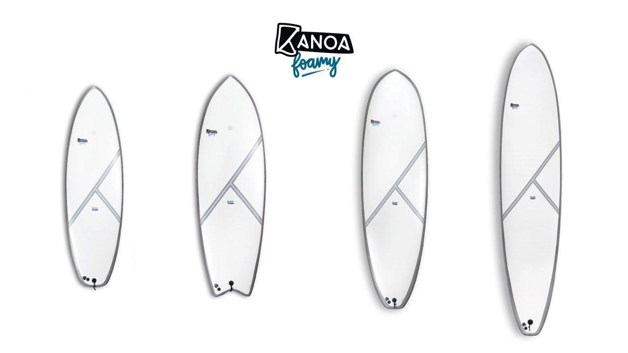 Kanoa Surfboards - Foamy Kollektion