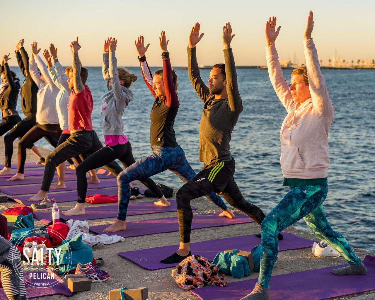 The Salty Pelican Yoga Surf Retreat - Sunrise Yoga