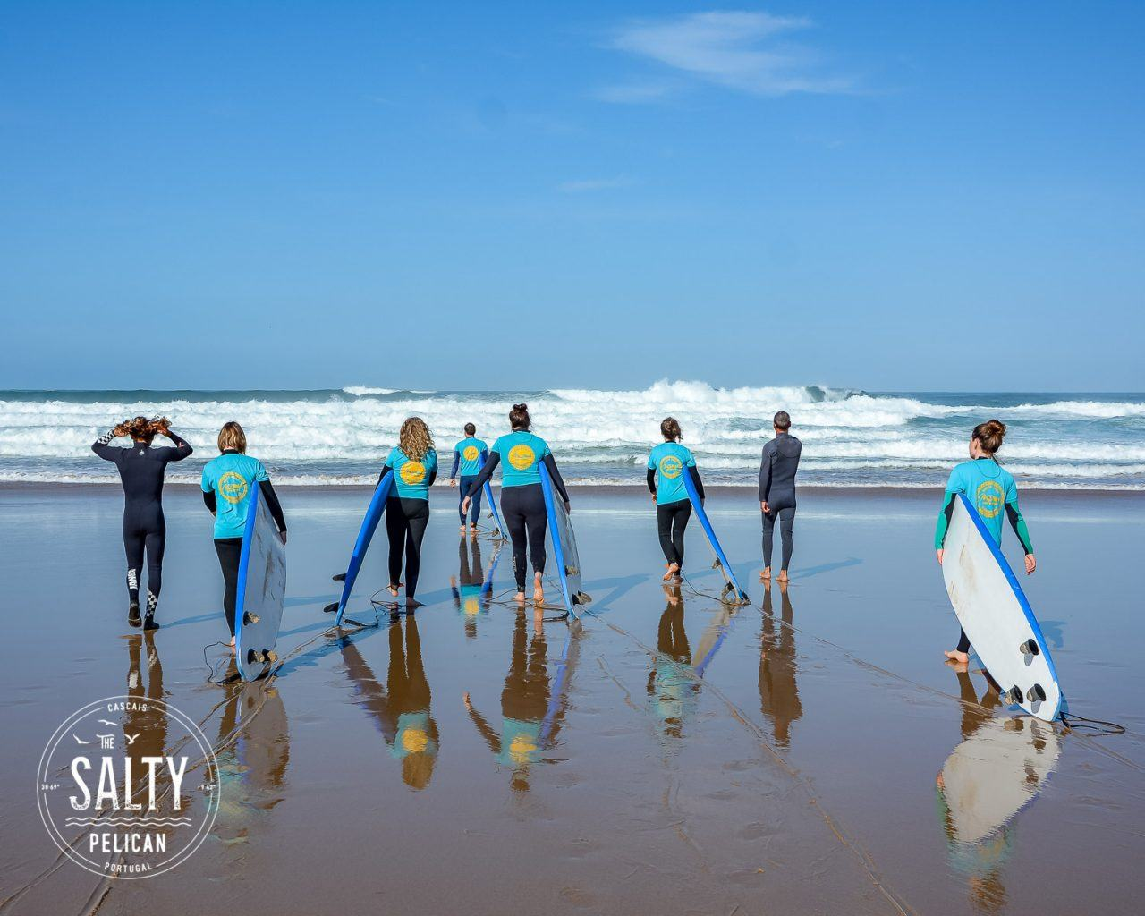 The Salty Pelican Yoga Surf Retreat - Surf Lesson