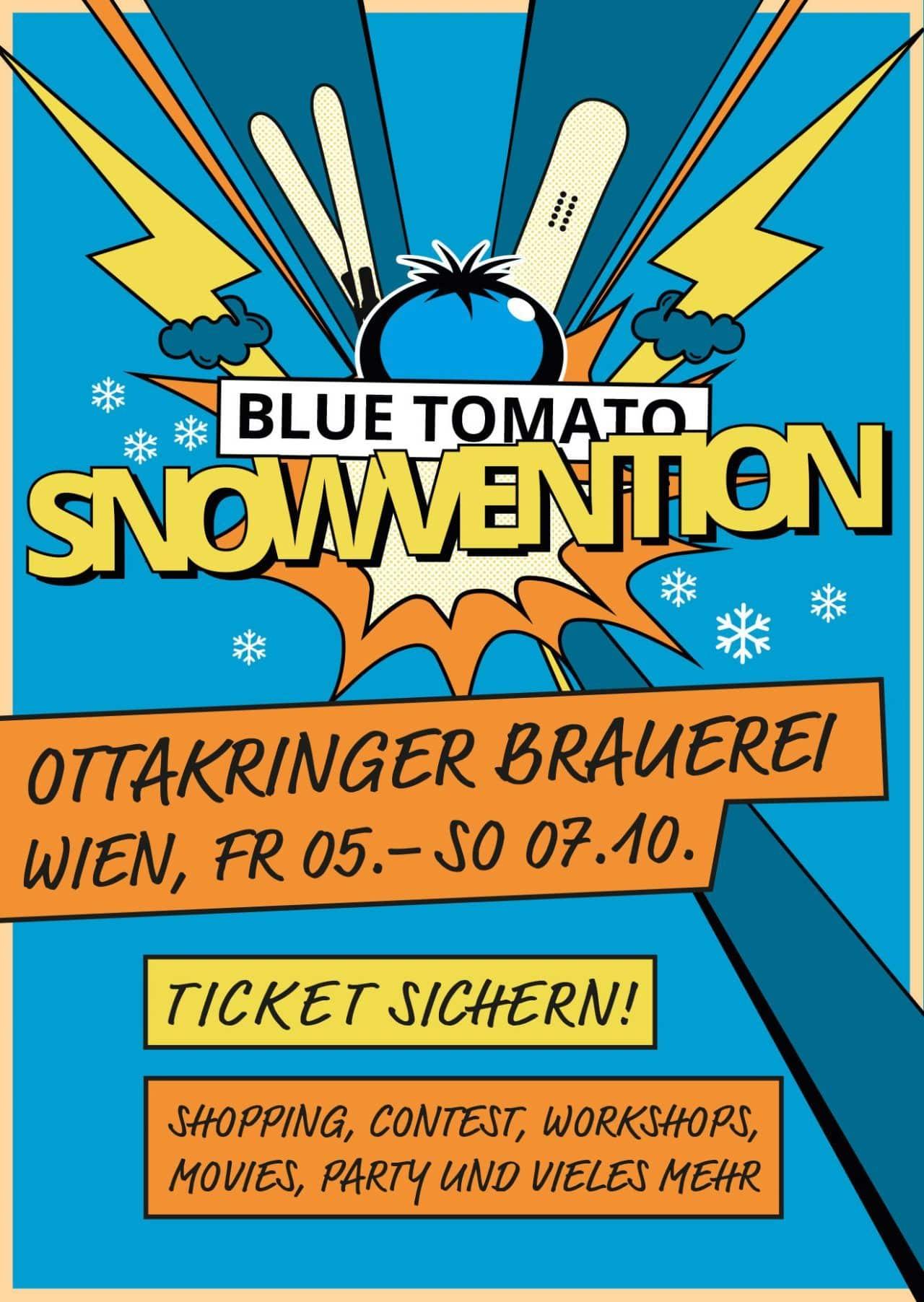 Blue Tomato Snowvention Wien