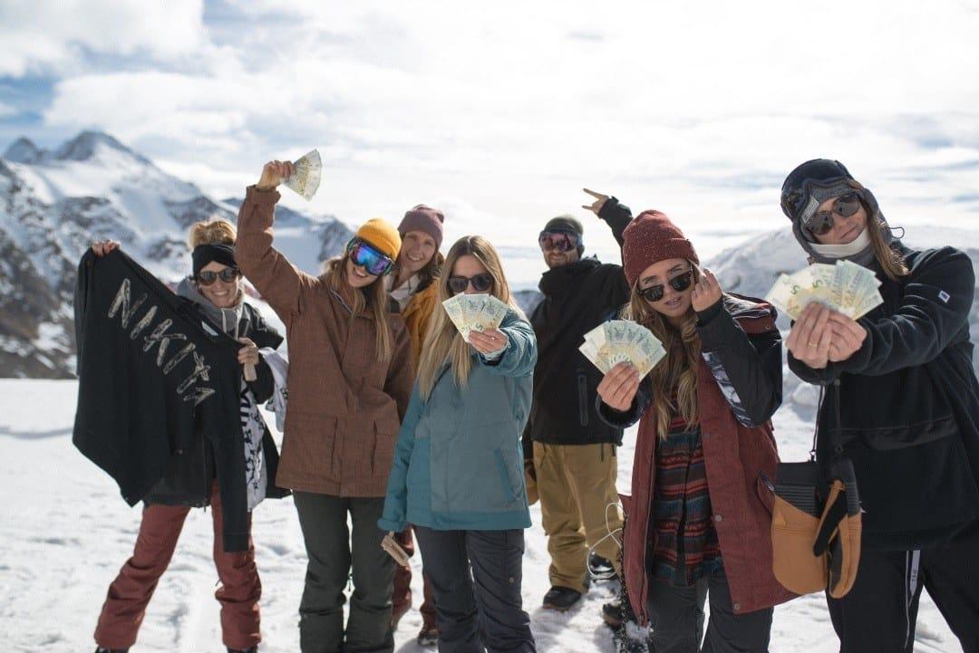 Cash for Tricks bei der Stubai Premiere