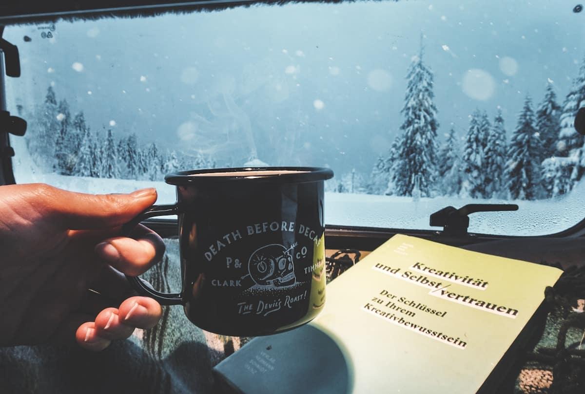 Van life, Vanlife, Van, Camping, Snowboarden