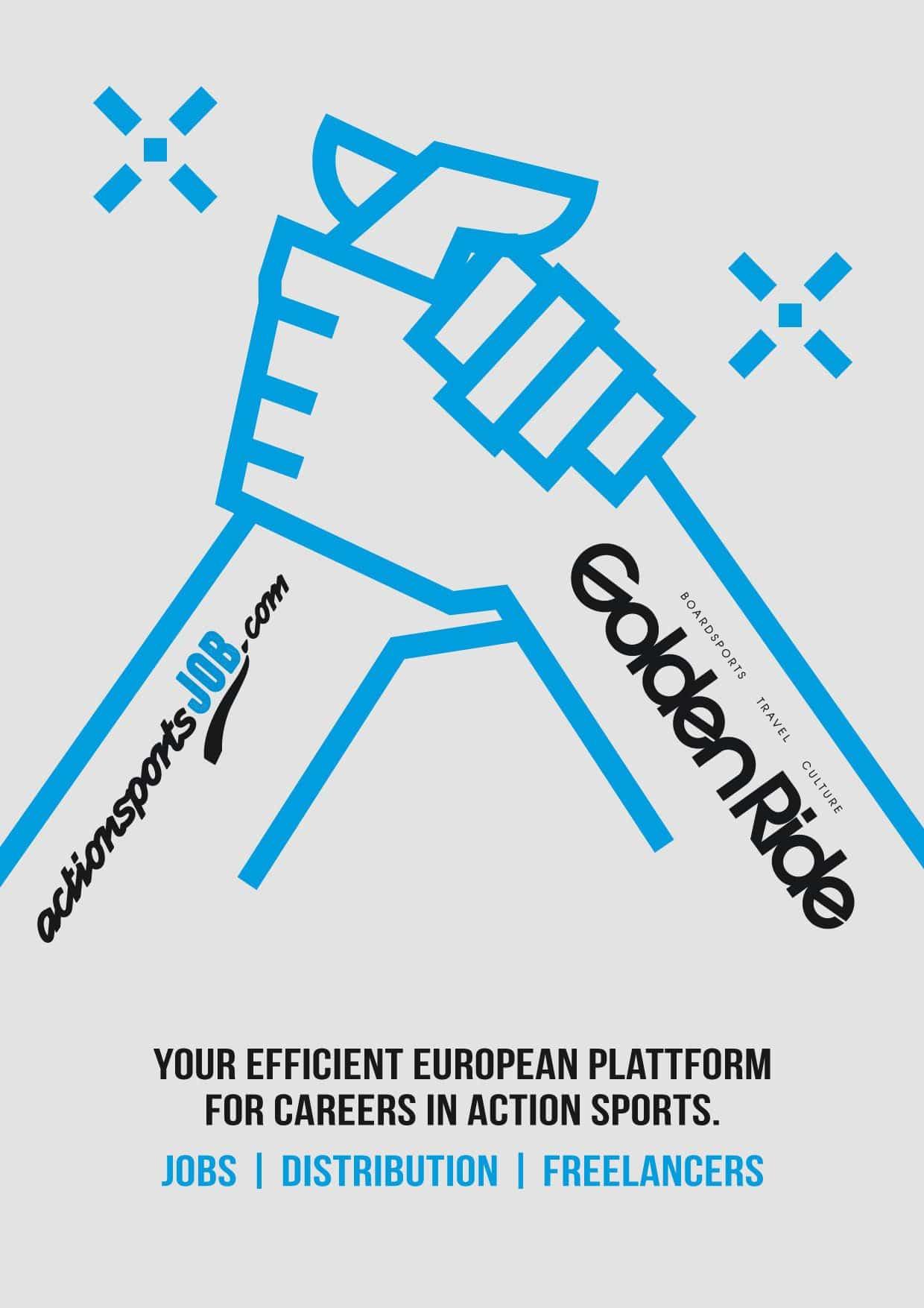 actionsportsJOB.com & Golden Ride Kooperation