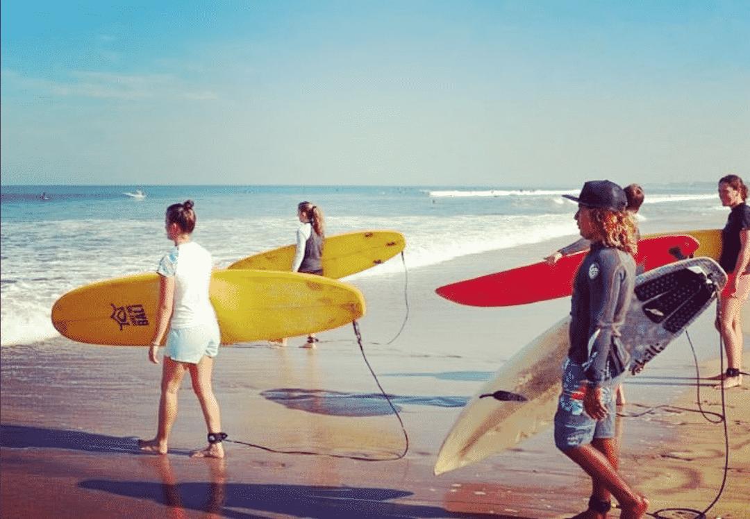 Surf WG Surfunterricht