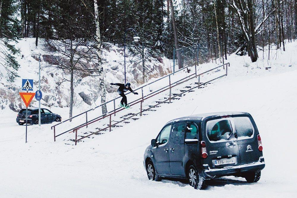 The Uninvited, Snowboard video