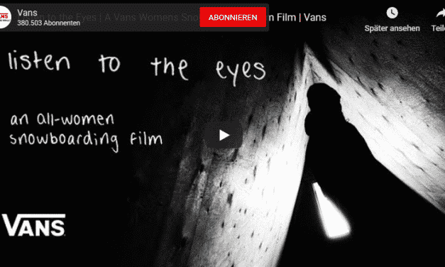 Listen to the Eyes – Vans Womens Snowboarding Film