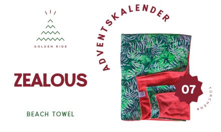 Adventskalender 7. Türchen: Beach Towel von Zealous Clothing