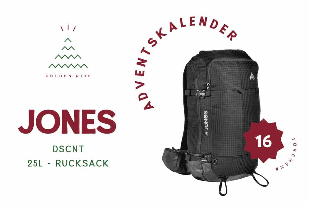 Jones DSCNT Rucksack