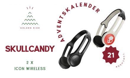 Adventskalender 21. Türchen: Skullcandy Wireless