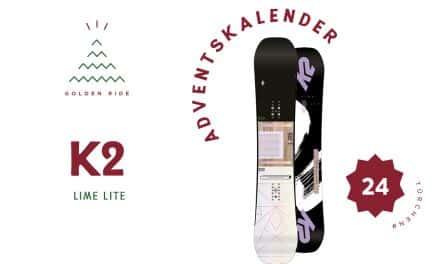 Adventskalender 24. Türchen: Snowboard K2 Lime Lite