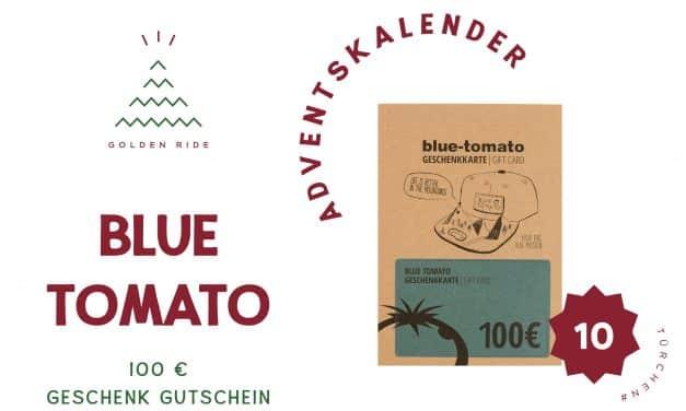 Adventskalender 10. Türchen: 100€ Blue Tomato Einkaufsgutschein