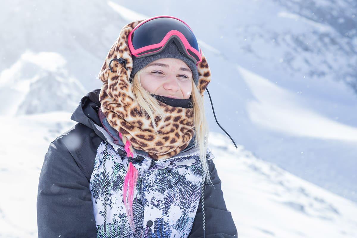 Snowboarderin Chloe Sillieres
