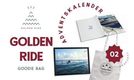 Adventskalender 2. Türchen: Golden Ride Abo + Goodie Bag