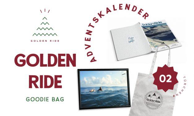 Adventskalender 2. Türchen: Golden Ride Abo + Goodie Bag