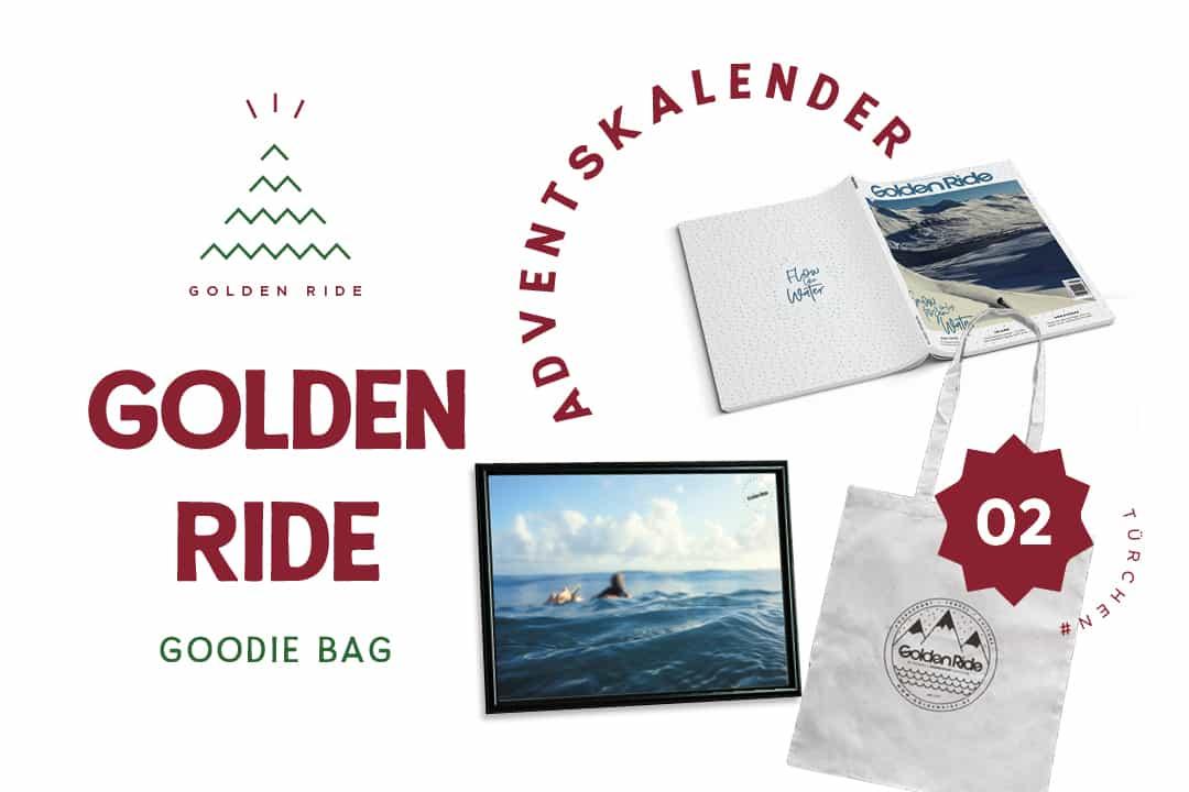 Golden Ride Goodie Bag