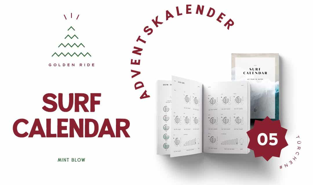 Adventskalender 5. Türchen: Surf Calendar