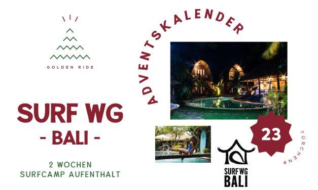 Adventskalender 23. Türchen: 2 Wochen in der Surf WG auf Bali