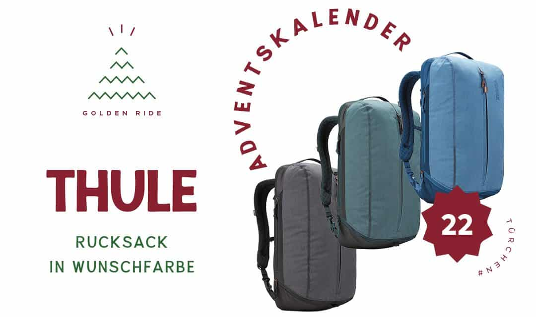 Adventskalender 22. Türchen: Thule Vea Backpack