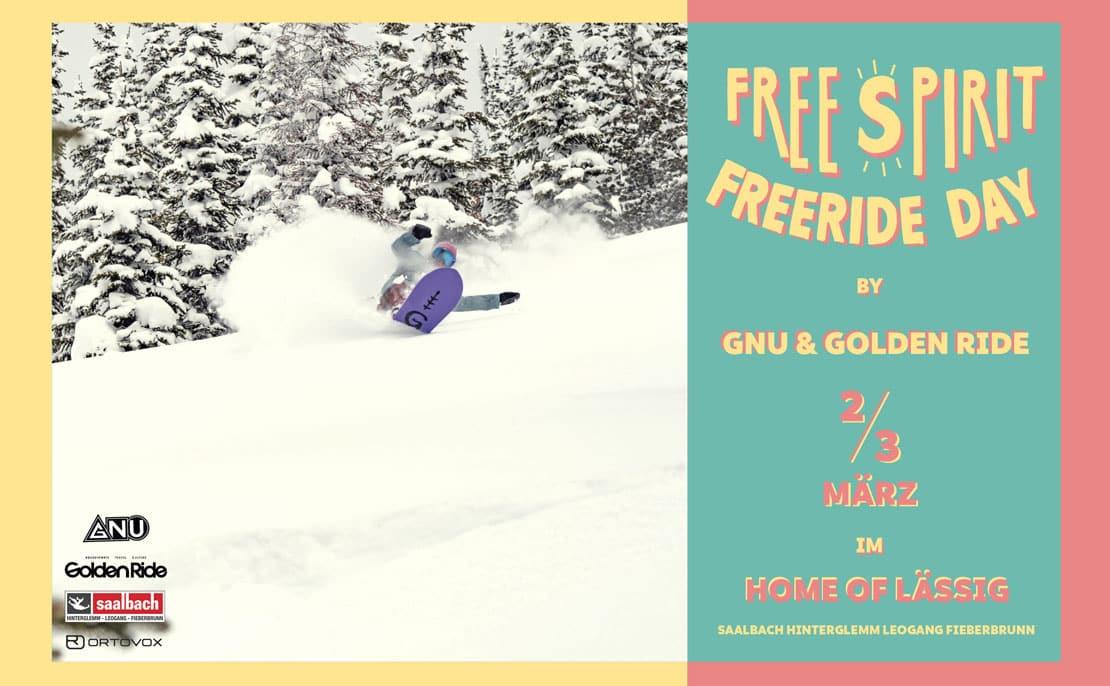 GNU Girls Free Spirit Freeride Day by Golden Ride