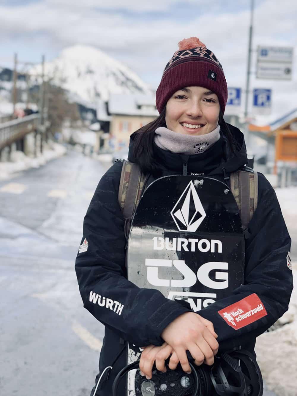 Leilani Ettel Snowboard, Halfpip