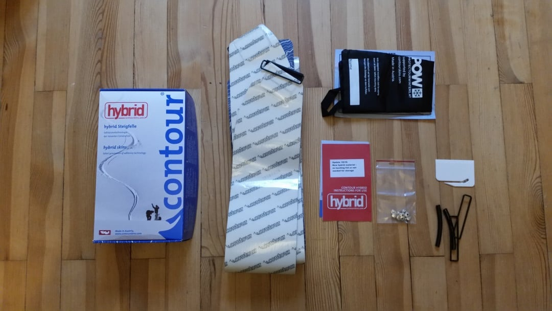 Coutour Hybrid Splitboard Fell
