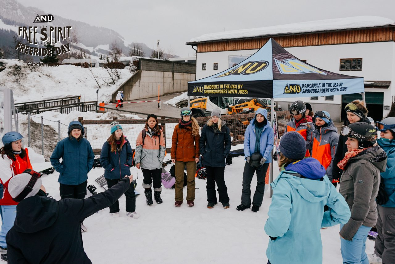 Gnu Free Spirit Freeride Day by Golden Ride