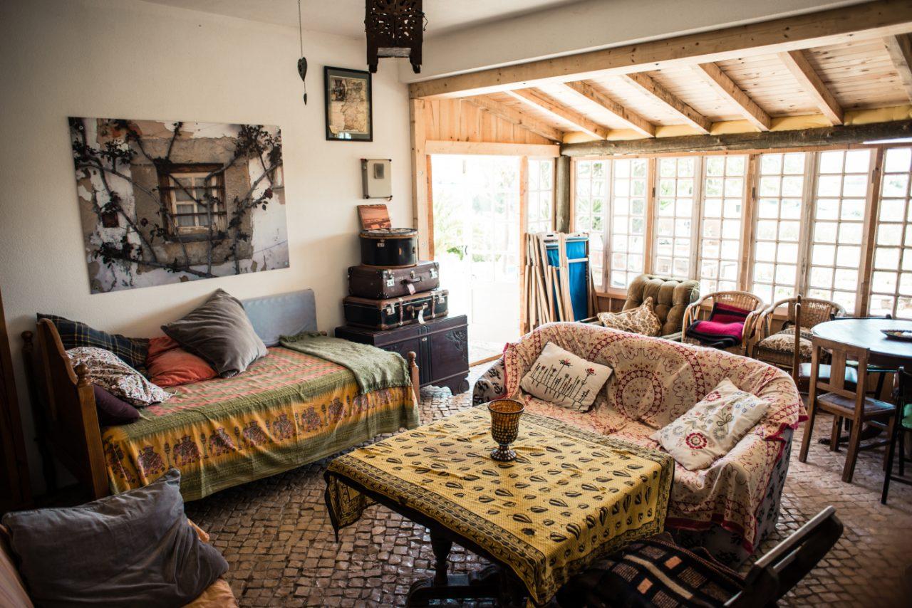Wohnzimmer im Da Silva