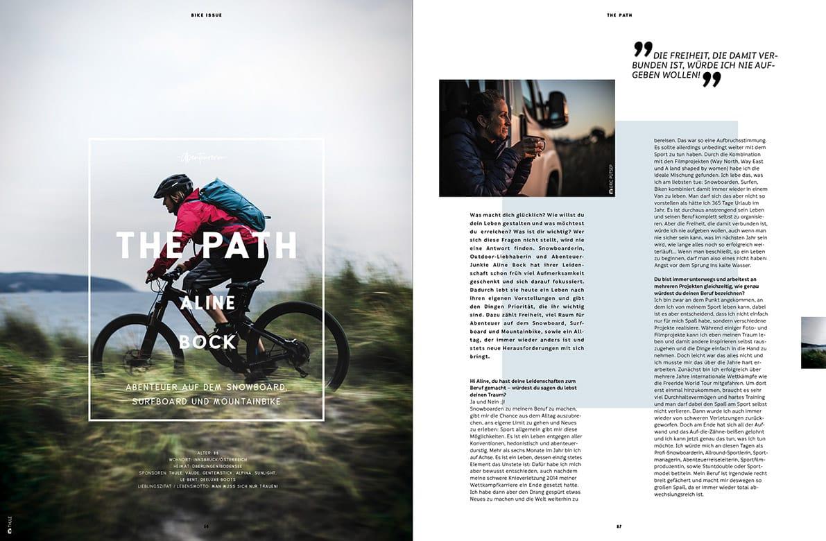 Golden Ride Mountainbike Ausgabe