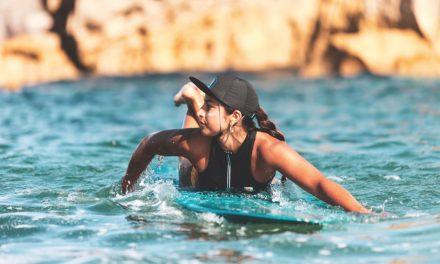 Kaiola Surf Kappe – Sonnenschutz für Surferinnen